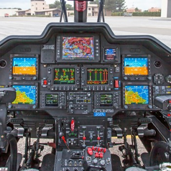 AW109SP flight deck
